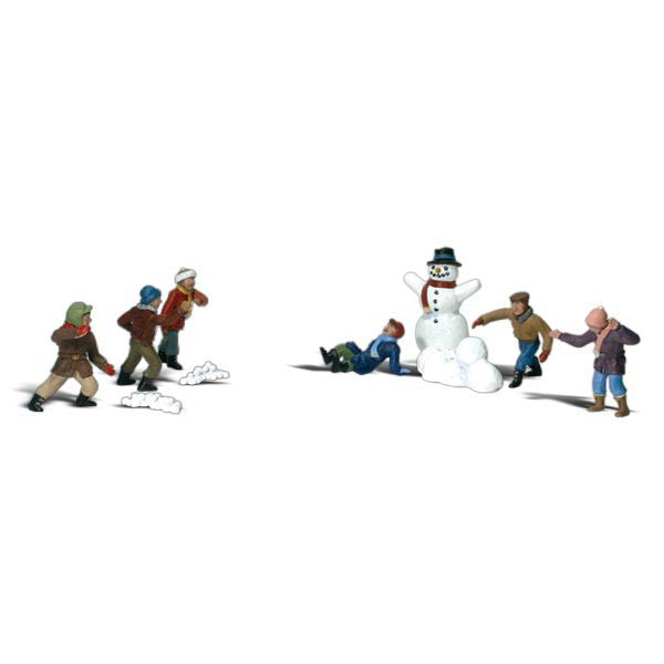 HO Scale: Snowball Fight