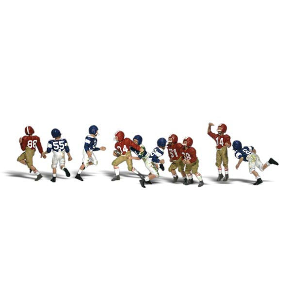 N Scale: Youth Football Players