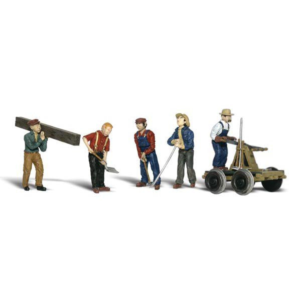 HO Scale: Rail Workers