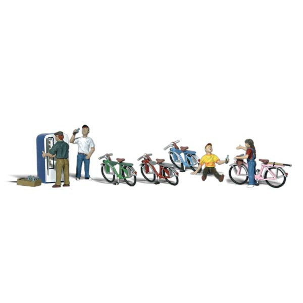 N Scale: Bicycle Buddies