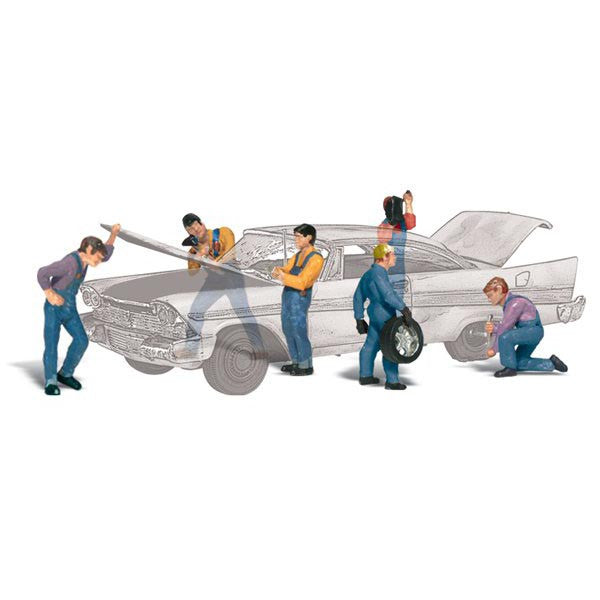 HO Scale: Auto Mechanics