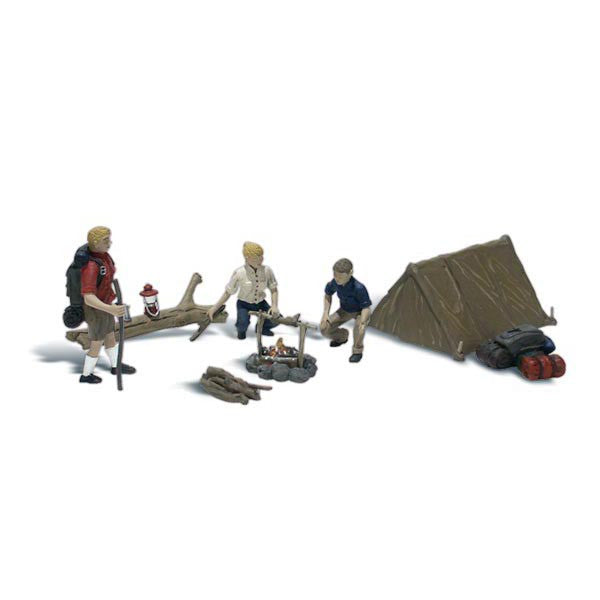 HO Scale: Campers
