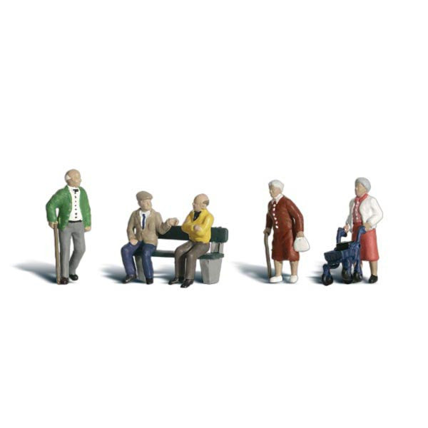N Scale: Senior Citizens
