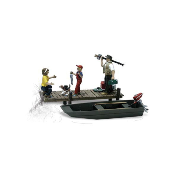 HO Scale: Family Fishing