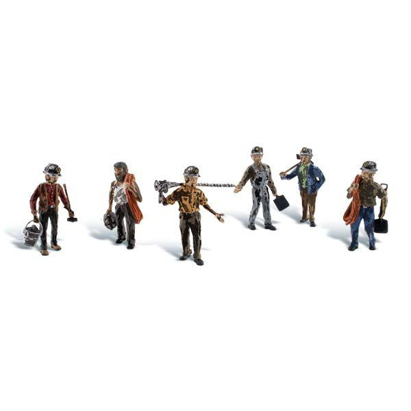 HO Scale: Miners