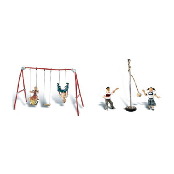 HO Scale: Playground Fun