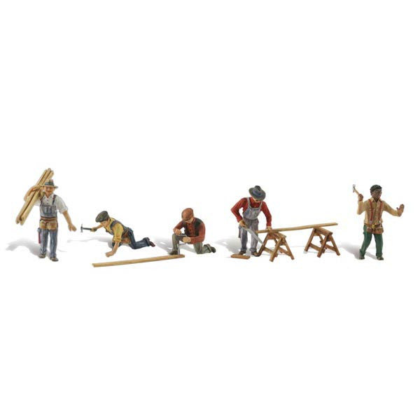 HO Scale: Carpenter Crew
