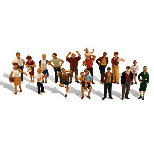 HO Scale: 16 People