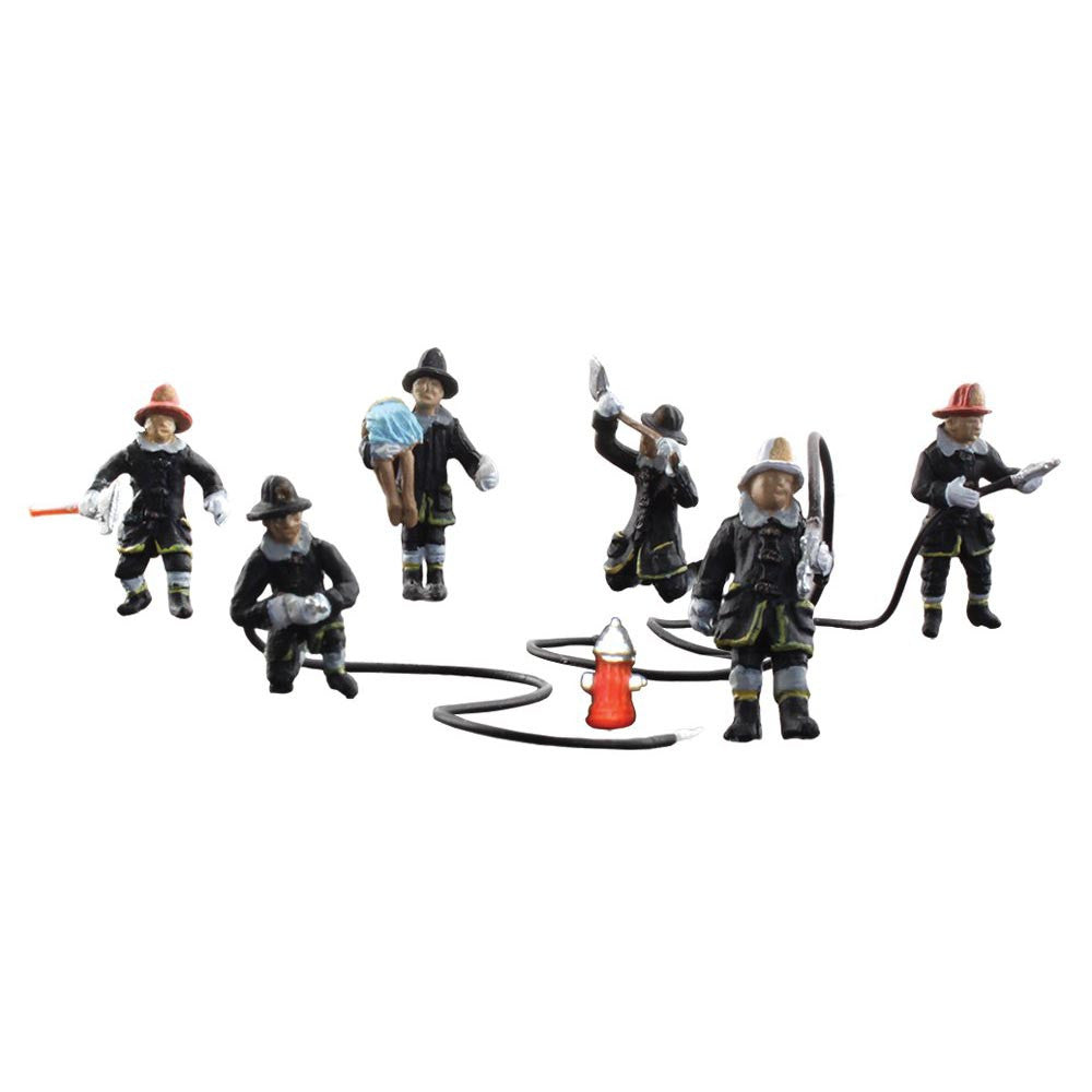 HO Scale: Rescue Firefighters