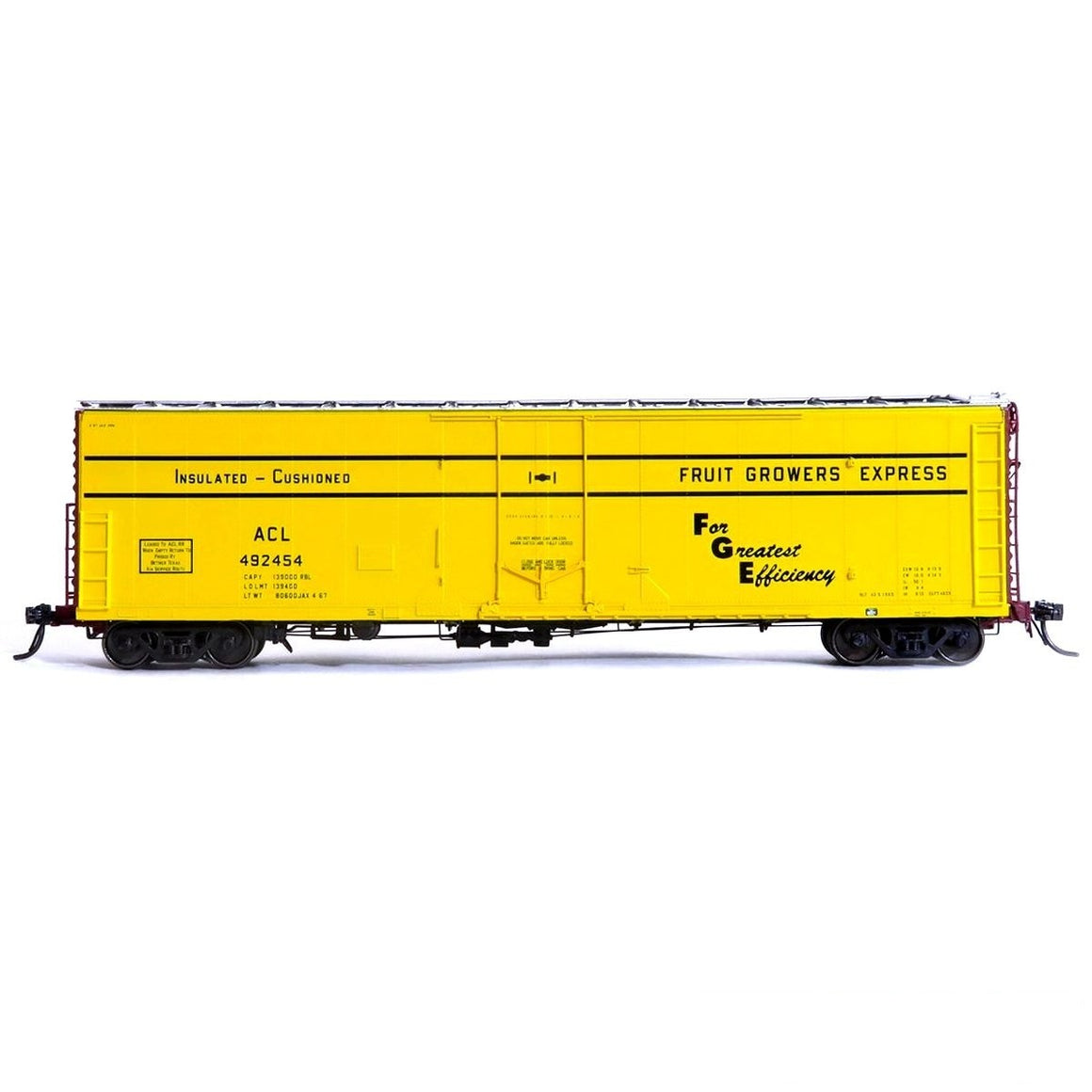HO Scale: FGE Plate B Insulated Boxcar - ACL 'JAX 4-67'