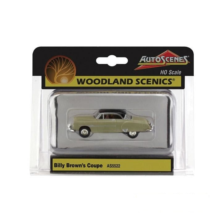 HO Scale: Billy Brown's Coupe
