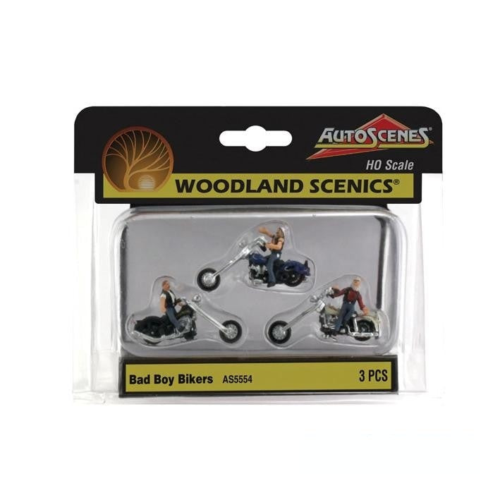 HO Scale: Bad Boy Bikers