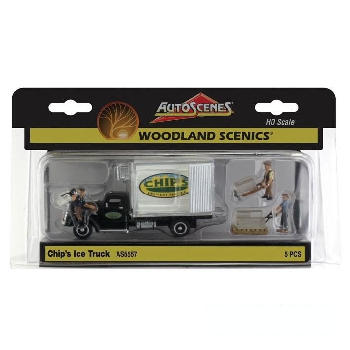 HO Scale: Chip's Ice Truck