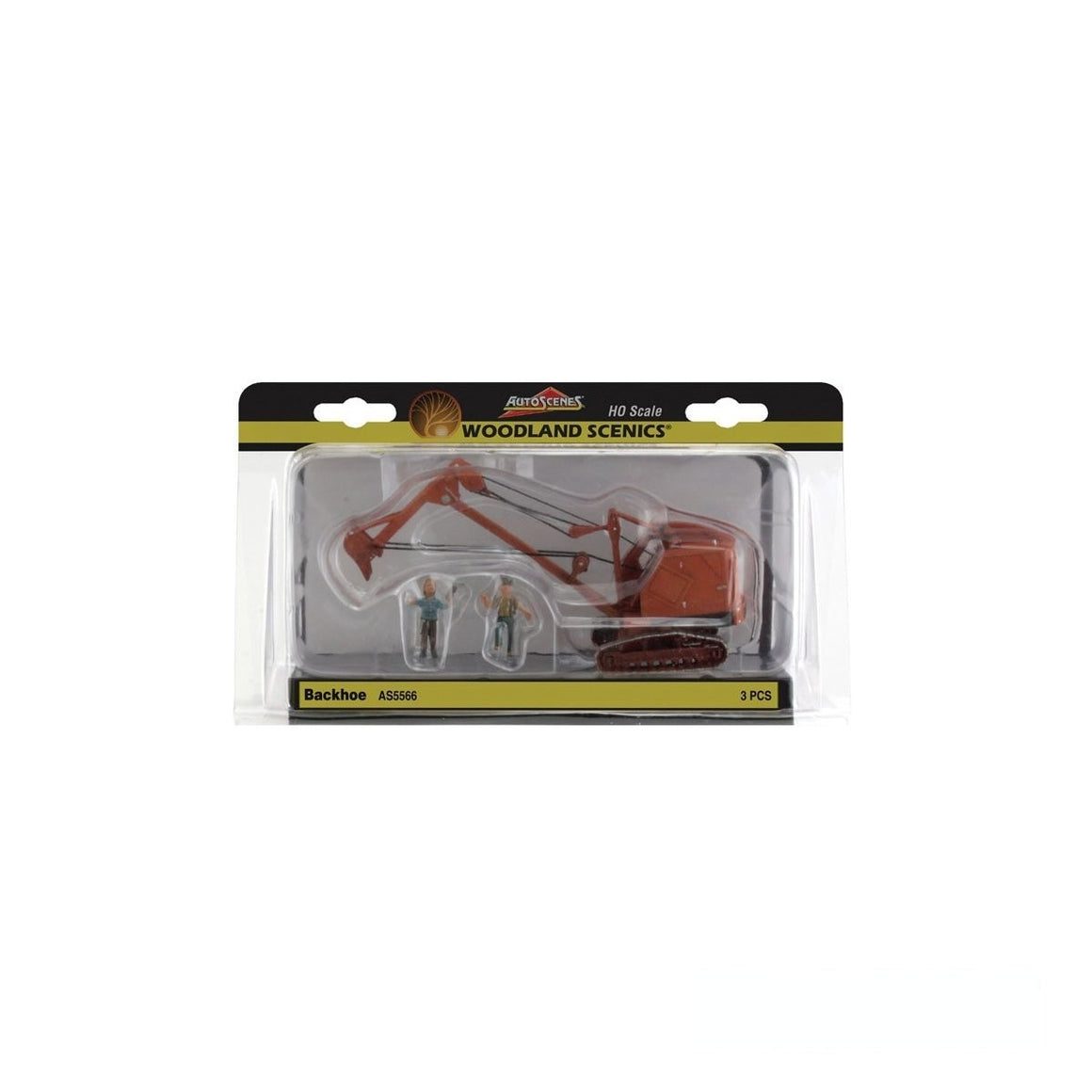 HO Scale: Backhoe
