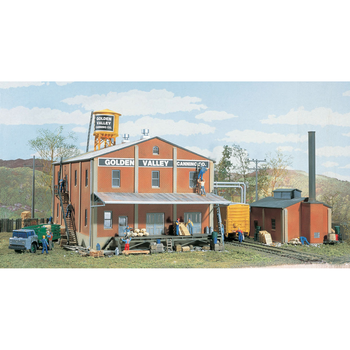 HO Scale: Golden Valley Canning Company - Kit