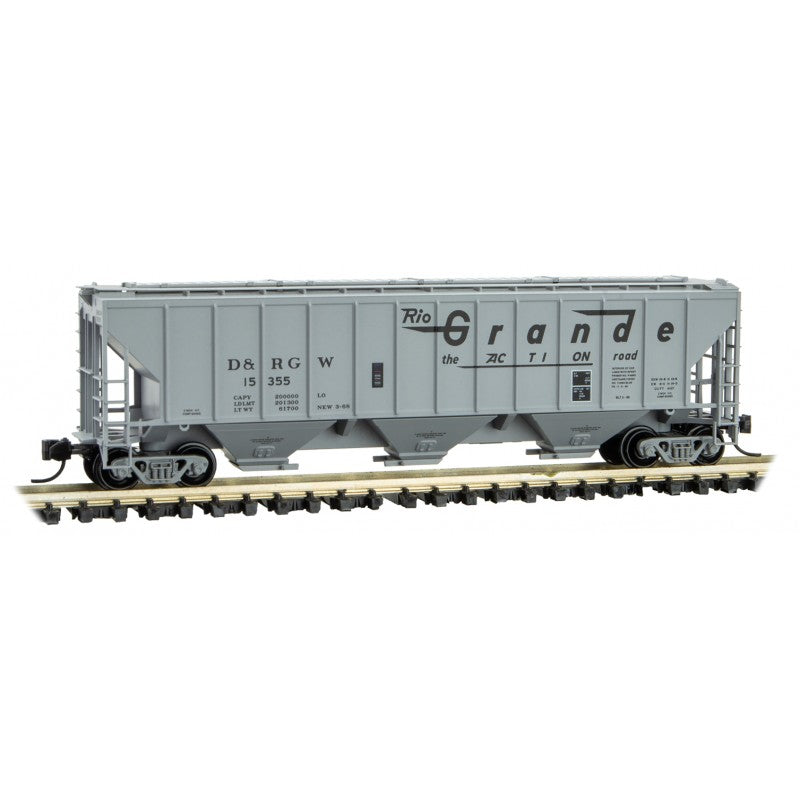 N Scale: 56' General Service Tank Car - DRGW