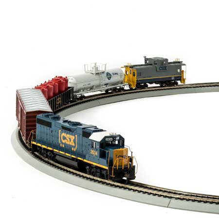 HO Scale: Iron Horse Train Set - CSX