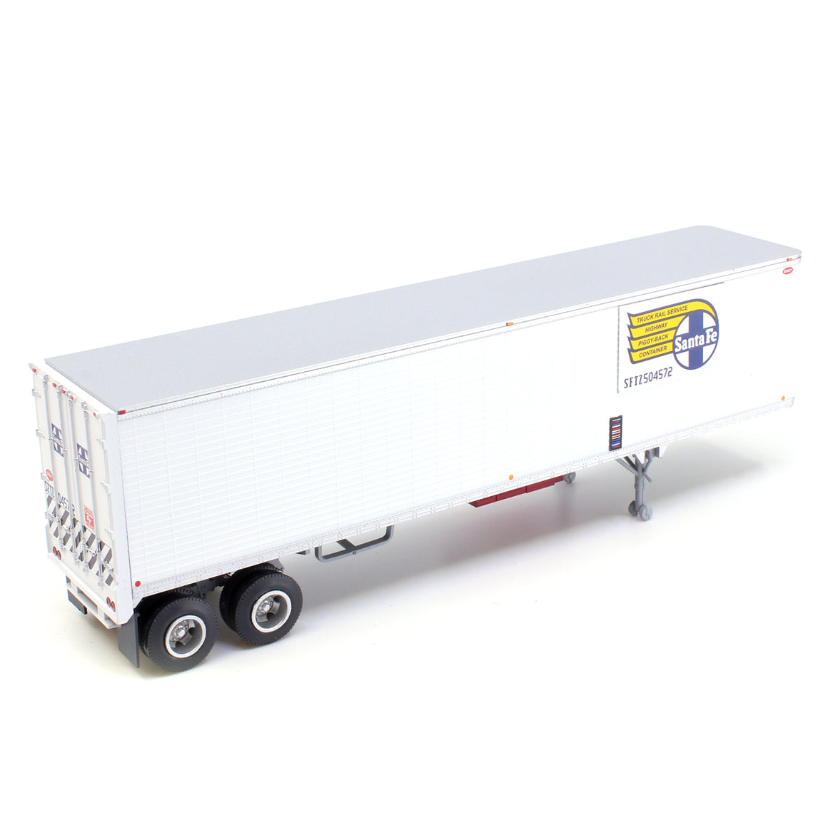 HO Scale: 40' Corrugated Semi Trailer - Santa Fe