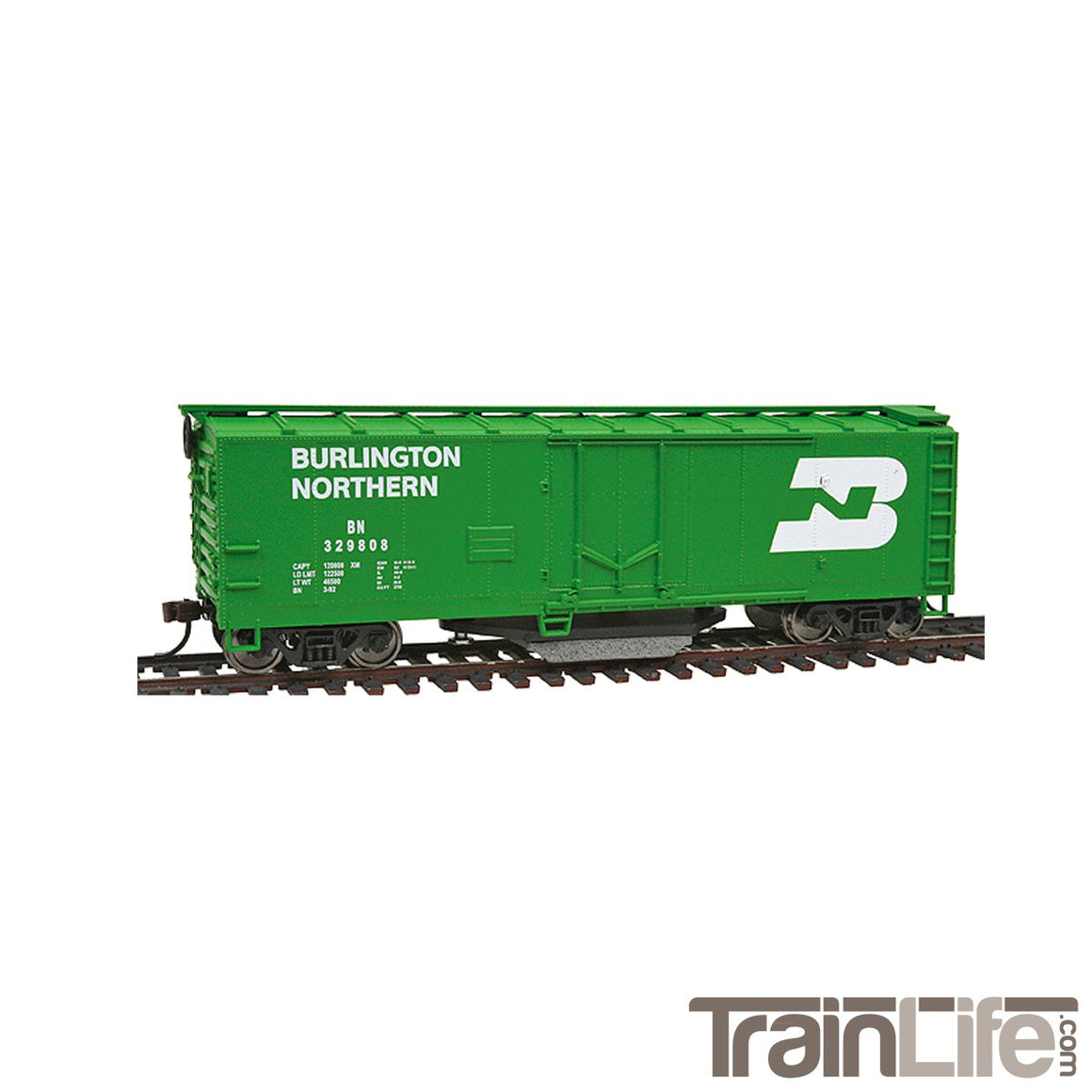 HO Scale: 40' Track Cleaning Plug Door Boxcar - BN