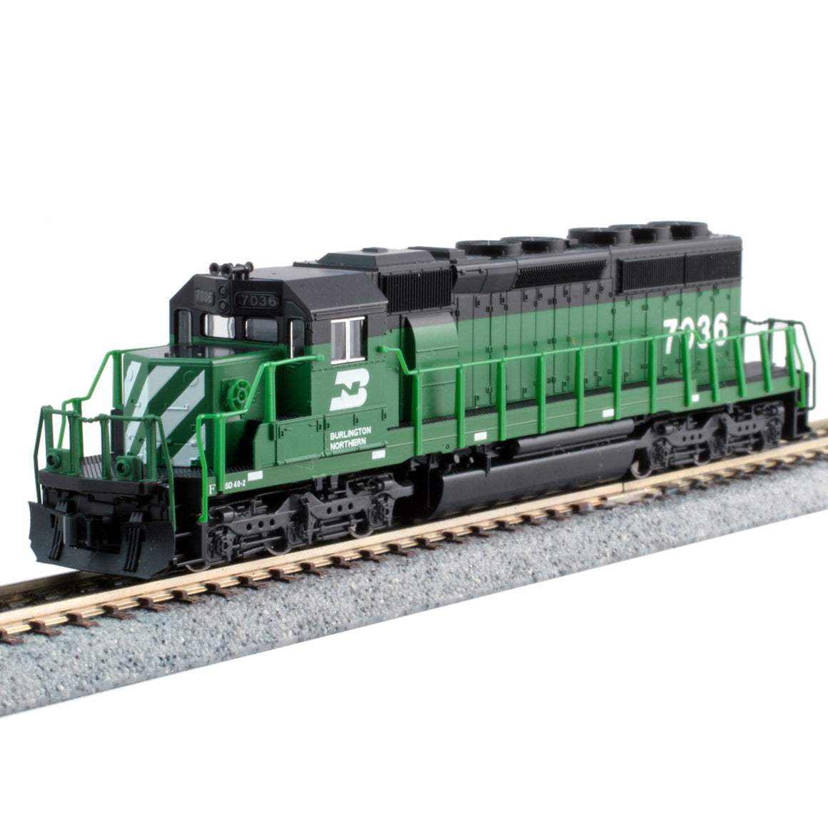 N Scale: EMD SD40-2 - DCC Equipped - Burlington Northern