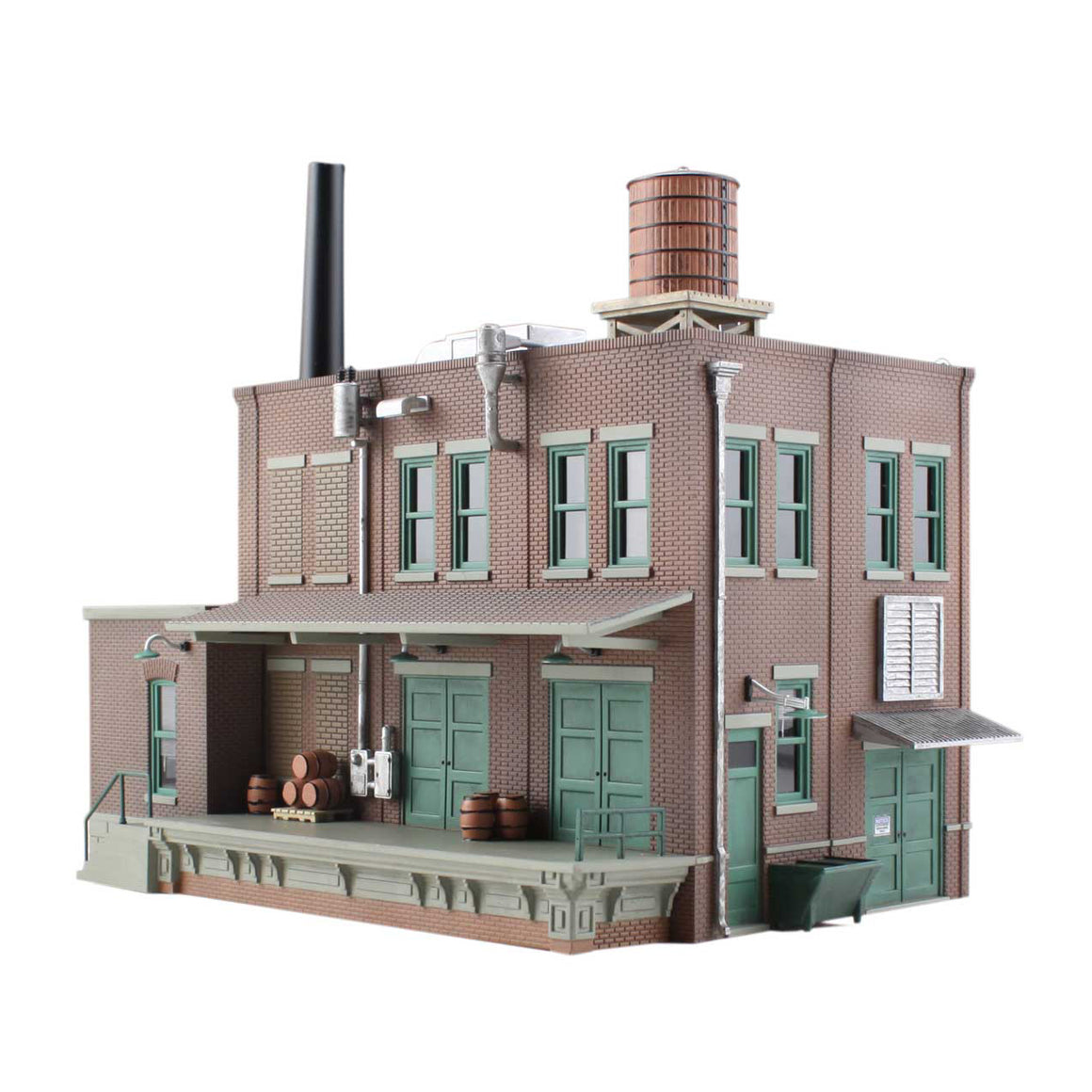 N Scale: Clyde & Dale's Barrel Factory