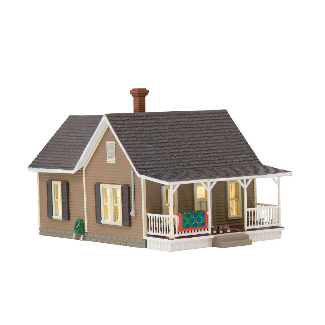 N Scale: Granny's House