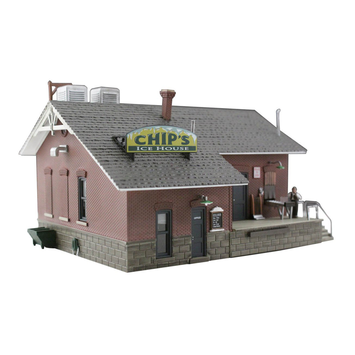 N Scale: Chip's Ice House