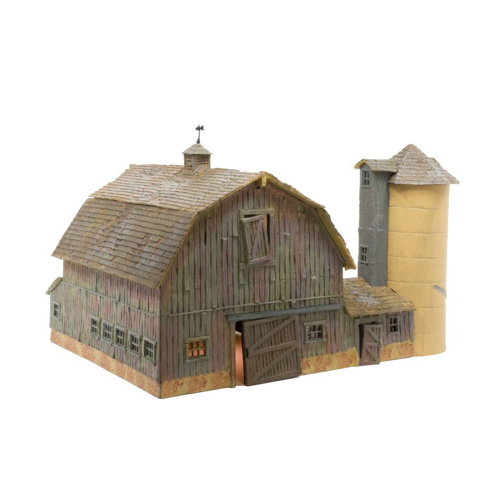 N Scale: Old Weathered Barn