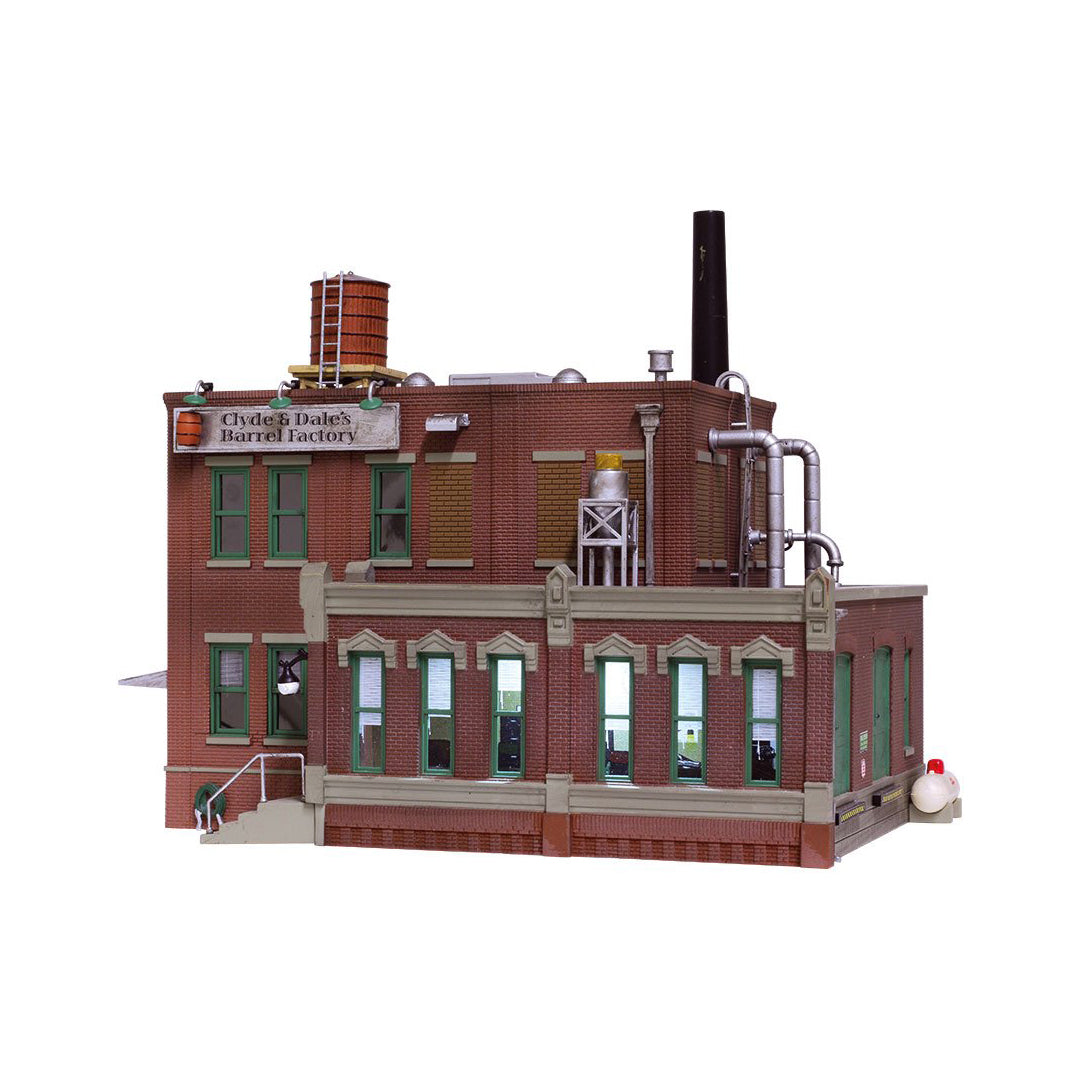 HO Scale: Clyde & Dale's Barrel Factory