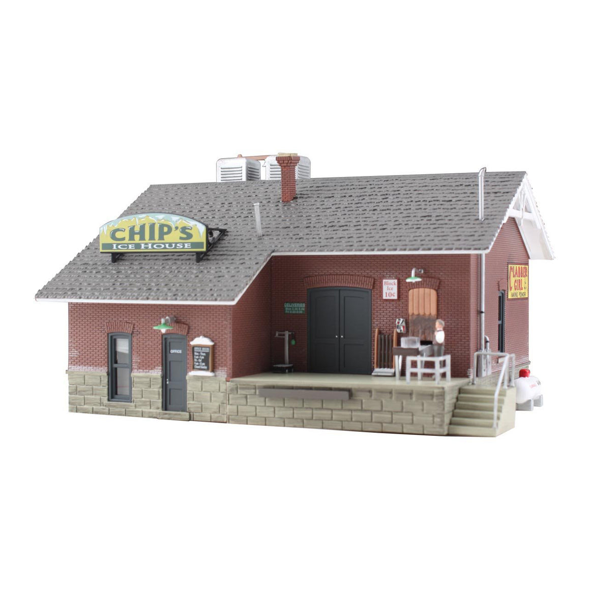 HO Scale: Chip's Ice House