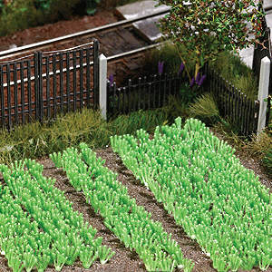 HO Scale: Vegetable Garden