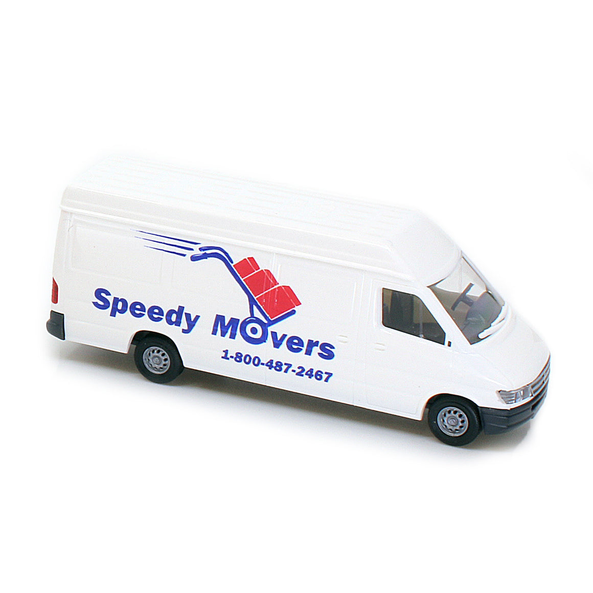 HO Scale: Modern Sprinter Van - Speedy Movers
