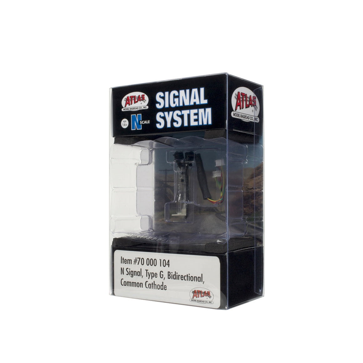N Scale: Signal System Type G Signals - Bidirectional