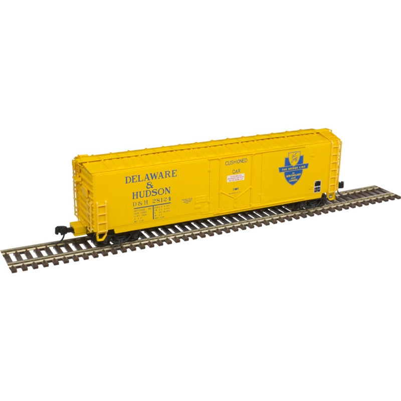 N Scale: 50' General American RBL Boxcar - Delaware & Hudson