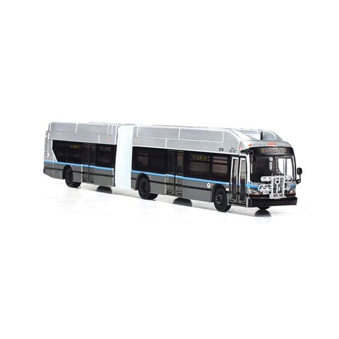 HO Scale: New Flyer Excelsior Articulated Bus - Boston MTA Silver Line