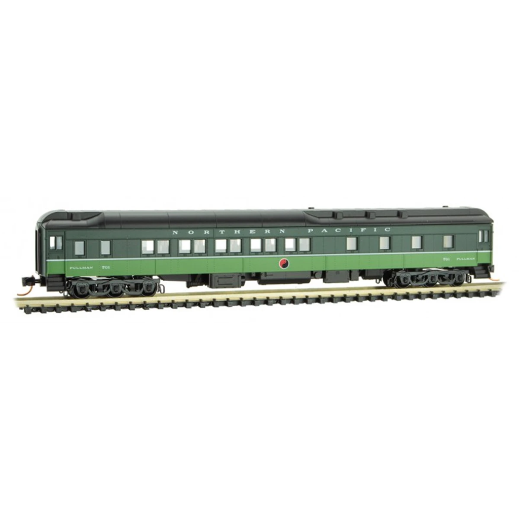 N Scale: 10-1-2 Heavyweight Sleeper Car - Northern Pacific