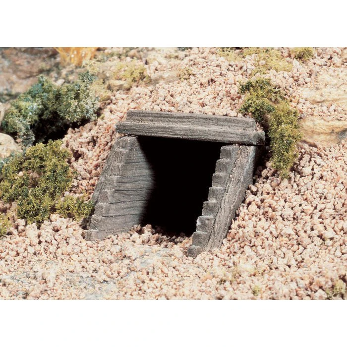 N Scale: Timber Culvert
