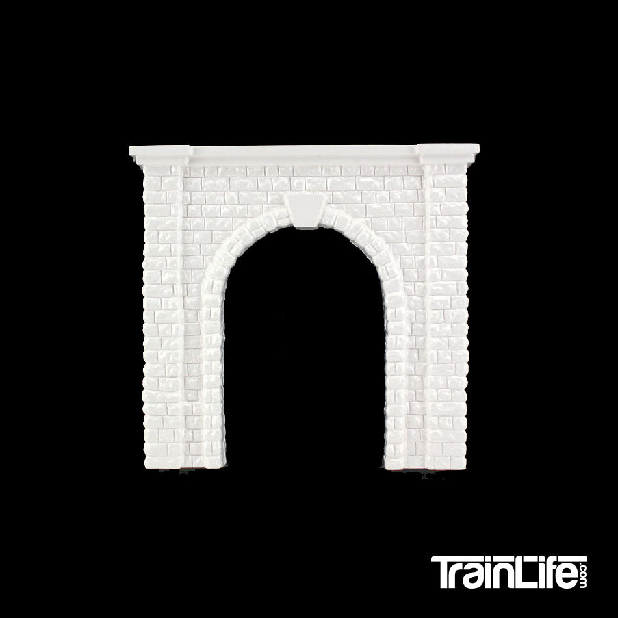O Scale: Cut Stone Single Track Tunnel Portal