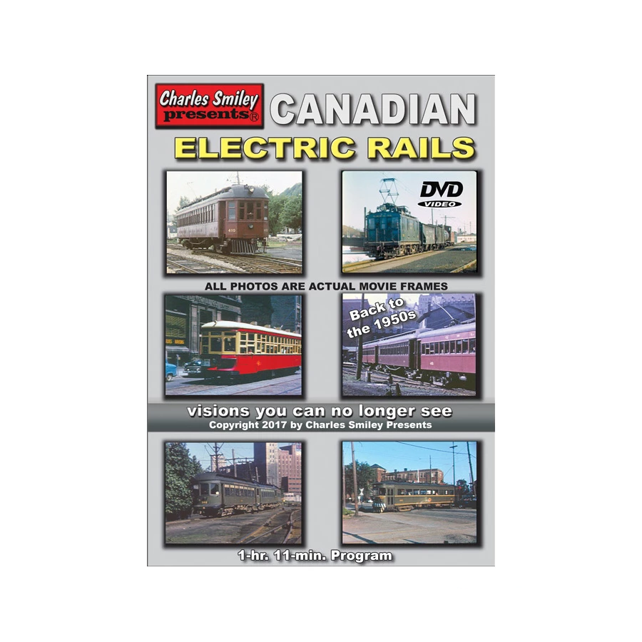 DVD: Canadian Electric Rails 1950's