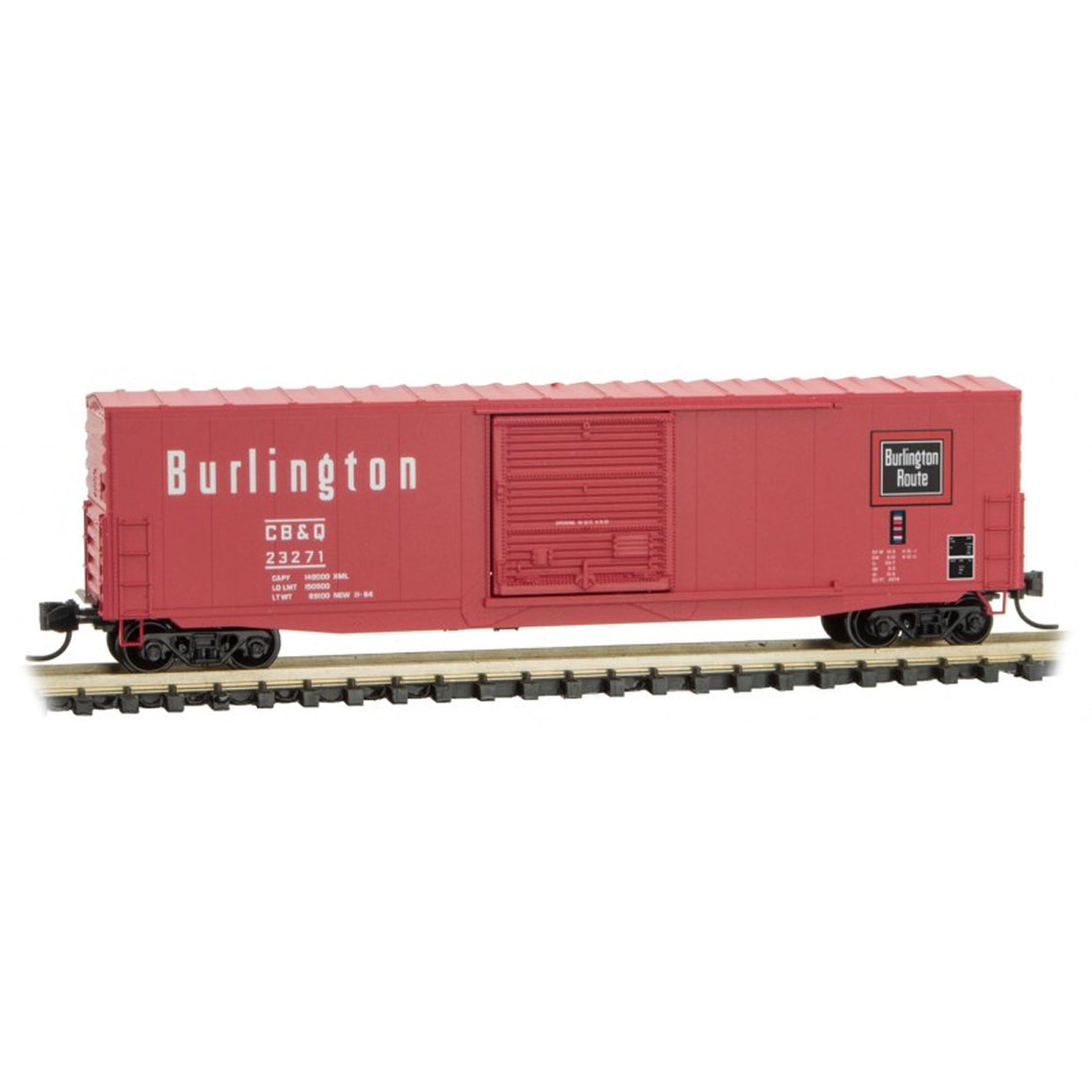 N Scale: 50' Standard Box Car - CB&Q