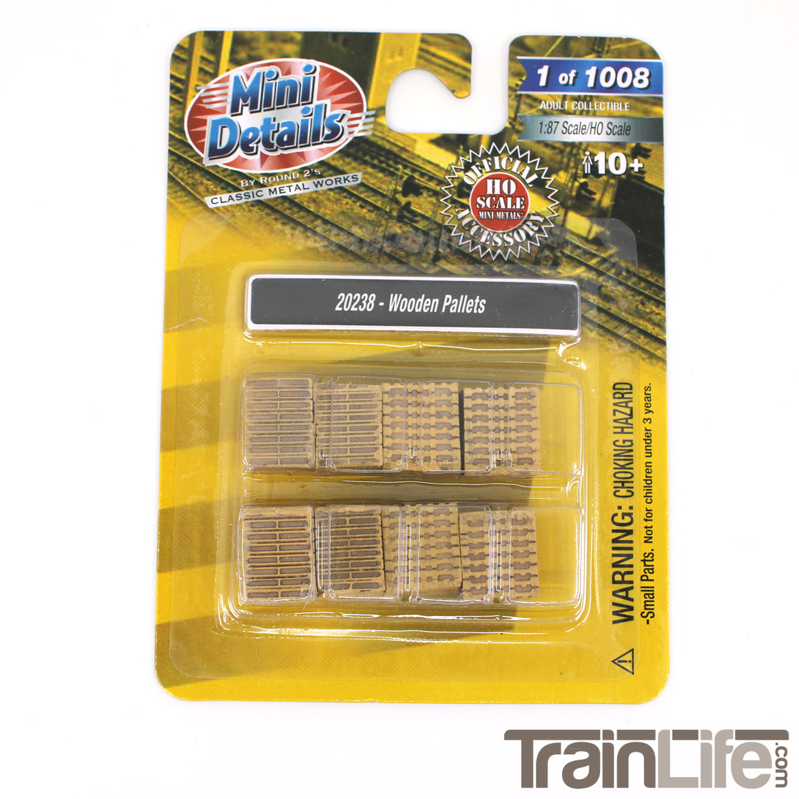 HO Scale: Wooden Pallets Truck Loads
