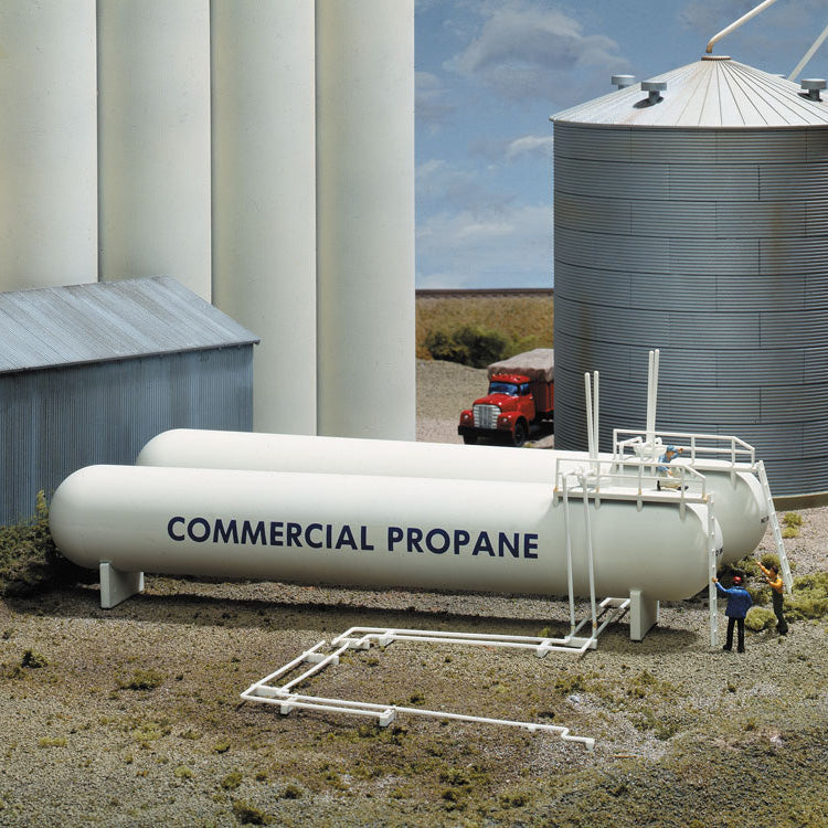 HO Scale: Propane Tanks - Kit