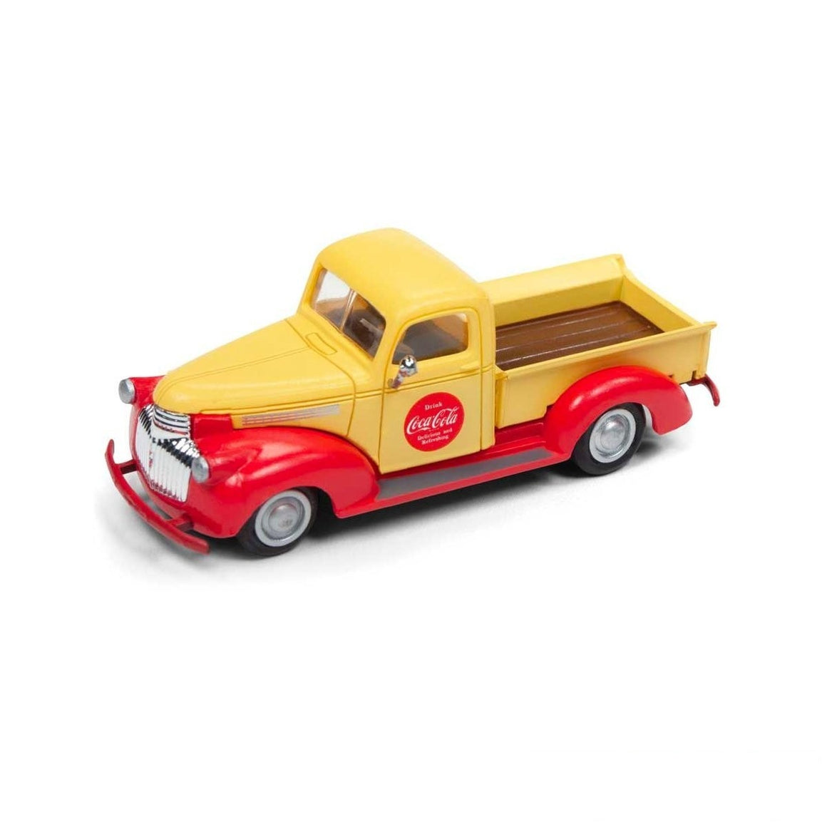 HO Scale: 1941-46 Chevy Pickup Truck - Coca-Cola