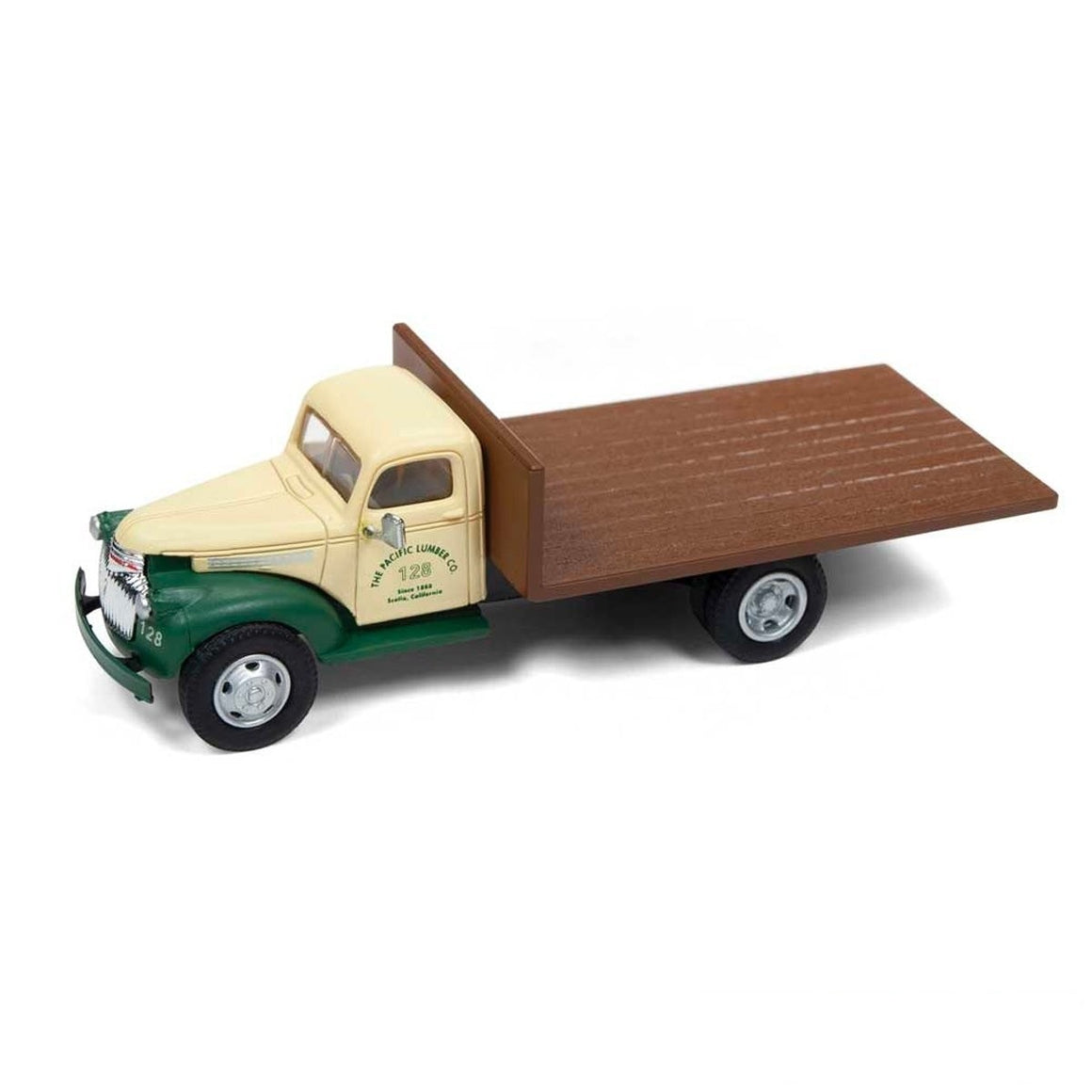 HO Scale: 1941-46 Chevy Flatbed Delivery Truck - Pacific Lumber Co.