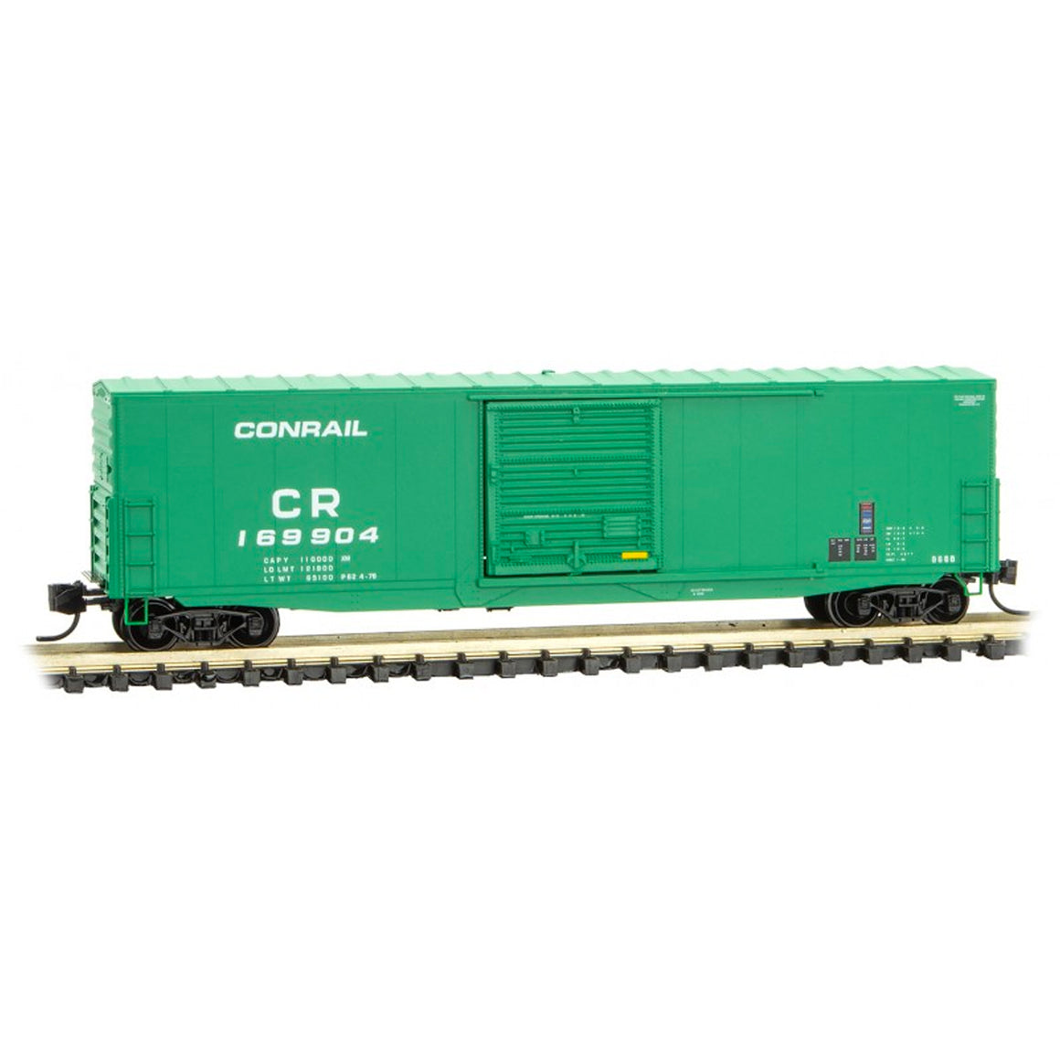 N Scale: 50' Standard Box Car - Conrail