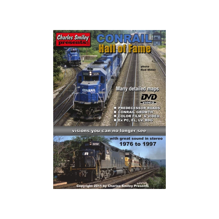 DVD: Conrail Hall of Fame