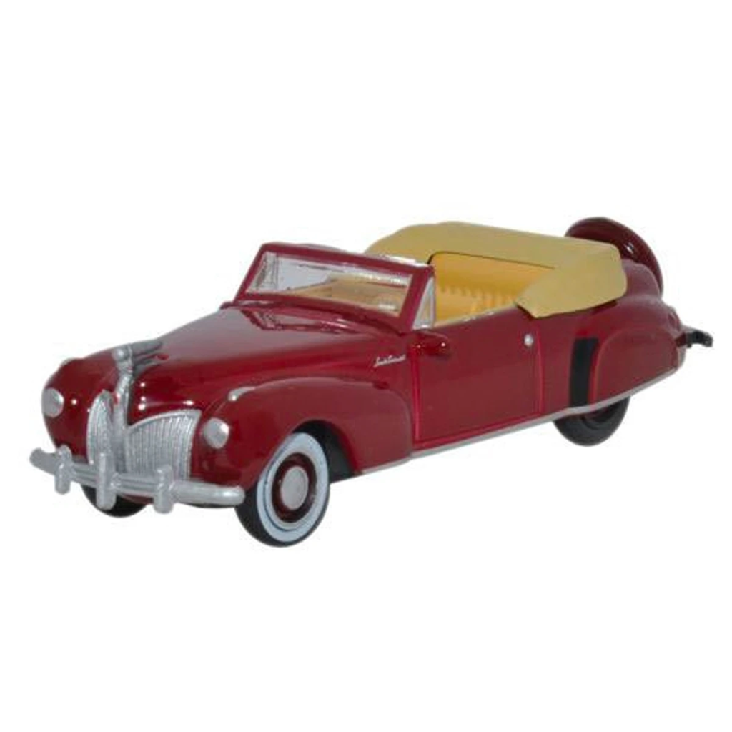 HO Scale: 1941 Lincoln Continental Convertible - Maroon