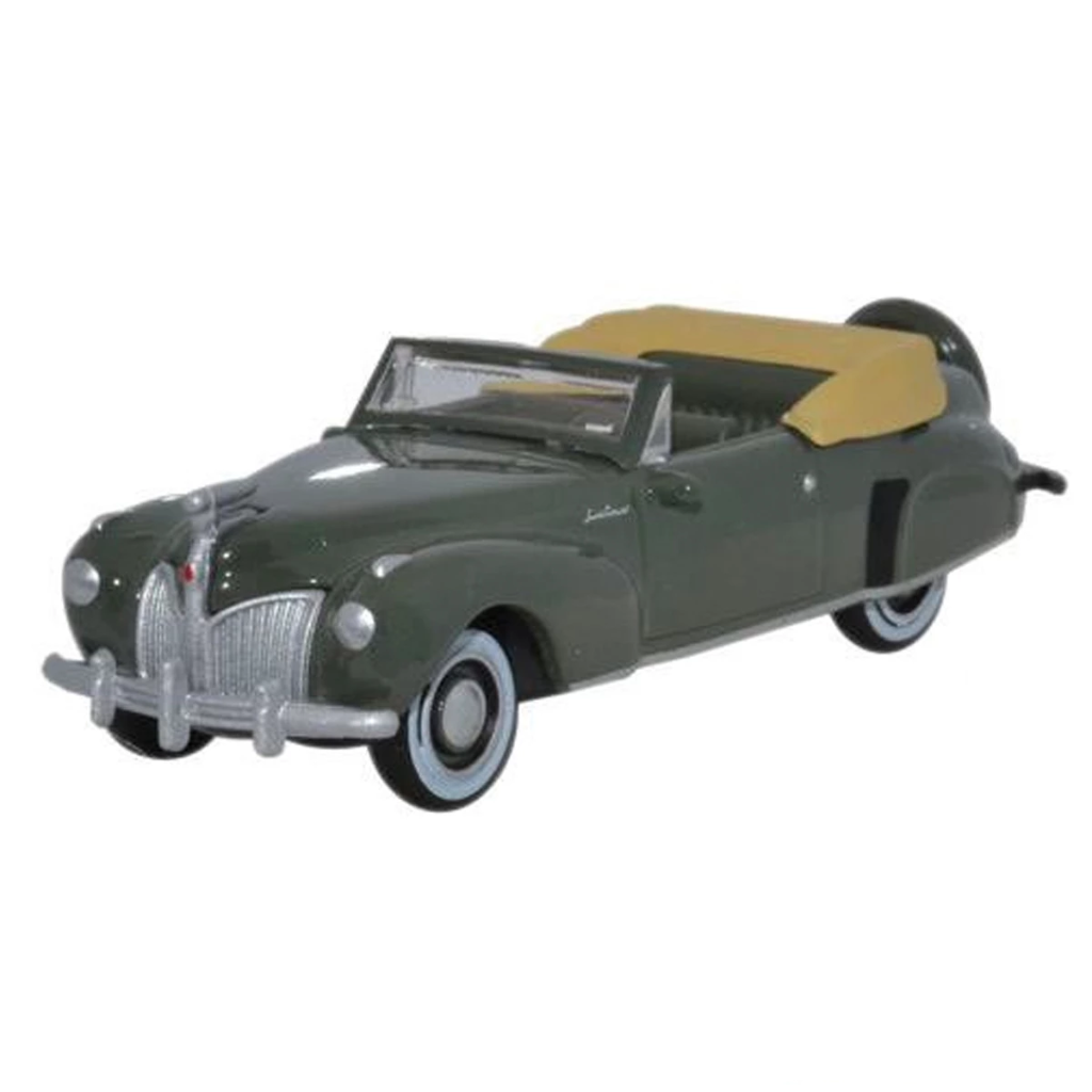 HO Scale: 1941 Lincoln Continental Convertible - Pewter Gray