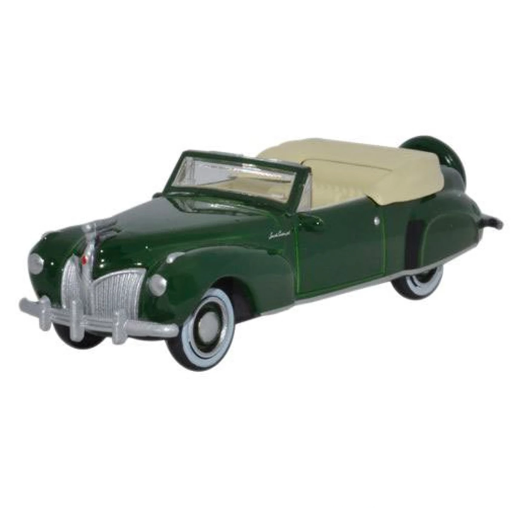 HO Scale: 1941 Lincoln Continental Convertible - Spode Green