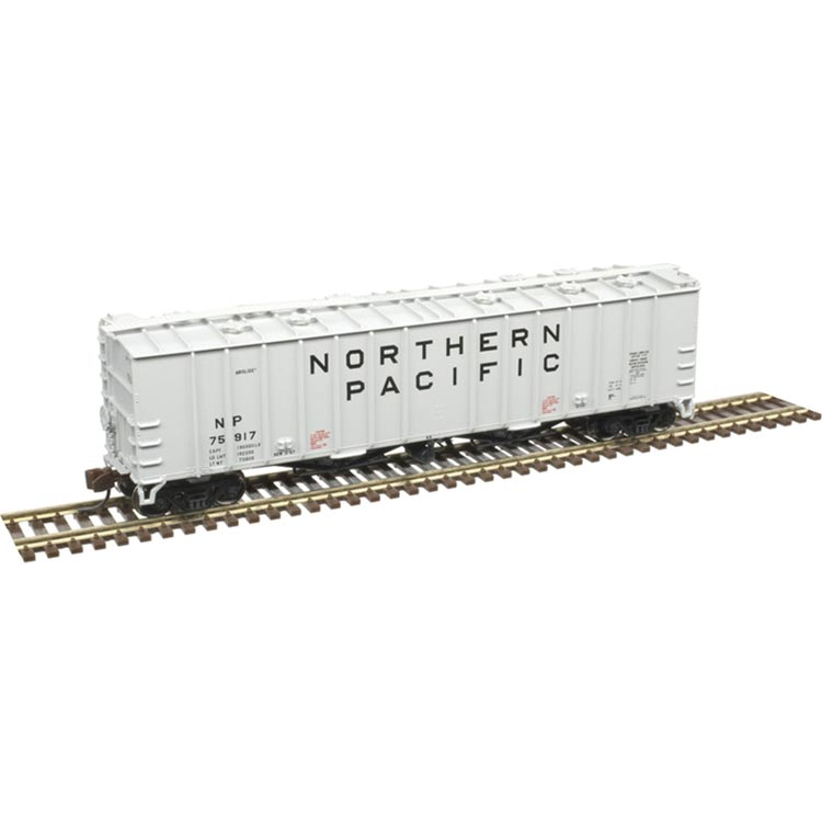N Scale: 4180 Airslide Covered Hopper - Northern Pacific